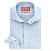 Thomas Pink Southwell Stripe Slim Fit Button Cuff Shirt