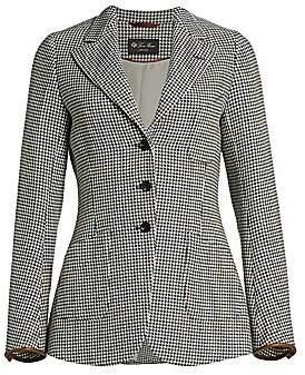 Loro Piana Women's Karissa Wool Structured Jacket