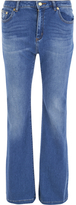 MICHAEL Michael Kors Women's Denim Retro Flare Jeans Authentic