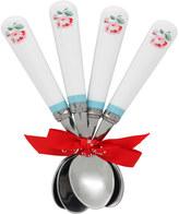 Cath Kidston Ashdown Rose Set of 4 Tea Spoons