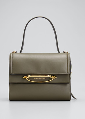 Alexander McQueen The Story Small Double Flap Shoulder Bag