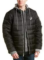 True Religion Puffer Jacket.