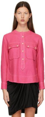 Isabel Marant Pink Tecoyo Blouse