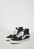Vans black / black / white ua sk8-hi sneaker