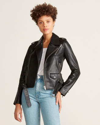 A.L.C. Dree Motorcycle Leather Jacket
