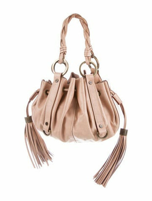 Givenchy Leather Tassel Handle Bag Brass
