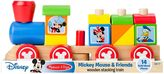 Melissa & Doug Disney Mickey Mouse & Friends Wooden Stacking Train by