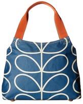 Orla Kiely Giant Linear Stem Classic Zip Shoulder Bag Shoulder Handbags
