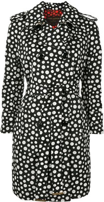 Louis Vuitton x Yayoi Kusama pre-owned polka dot trench coat