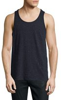 ATM Anthony Thomas Melillo Speckled Jersey Tank Top, Navy