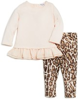 Splendid Girls' Ruffled Sweatshirt & Leggings Set