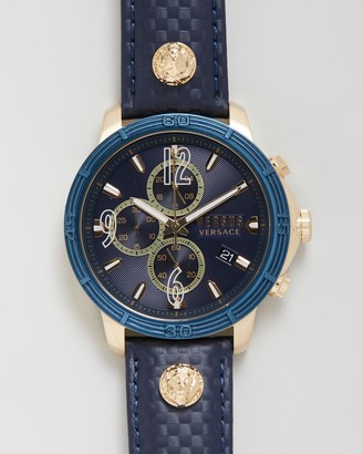 Versus By Versace Men's Blue Analogue - Bicocca 46mm - Size One Size at The Iconic