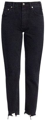 AGOLDE Jamie High-Rise Classic-Fit Ankle Jeans