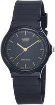 Casio Men's Core MQ24-1EL Rubber Quartz Watch