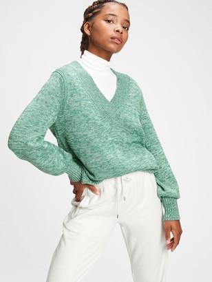 Gap Crossover V-Neck Sweater