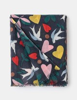 Boden Printed Merino Scarf