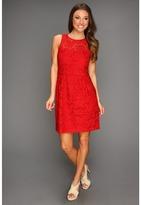 Nanette Lepore Sierra Madre Dress (Poppy Red) - Apparel