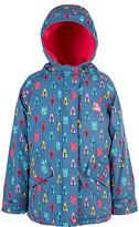 Frugi Organic Children's Nellie Waterproof Jacket, Blue
