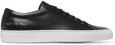 Common Projects Original Achilles Leather Sneakers - Black