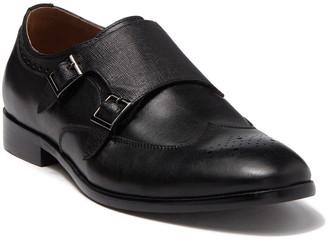 Ike Behar Hart Double Monk Strap Shoe