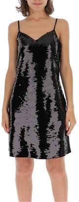 MICHAEL Michael Kors Sequinned Slip Dress