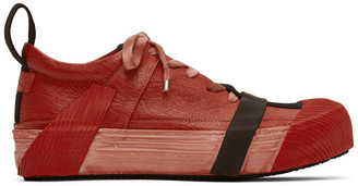 Boris Bidjan Saberi Red Bamba2 Sneakers
