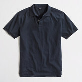 J.Crew Factory Textured cotton polo shirt