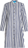 MiH Jeans Tove striped cotton shirtdress