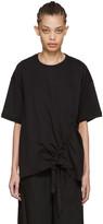 Marques Almeida Black Side Cord T-shirt