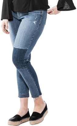Silver Jeans Co. Women's Plus Size Izzy High Rise Ankle Slim Jeans