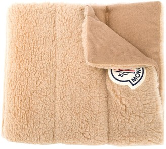 Moncler Quilted Virgin Wool Scarf