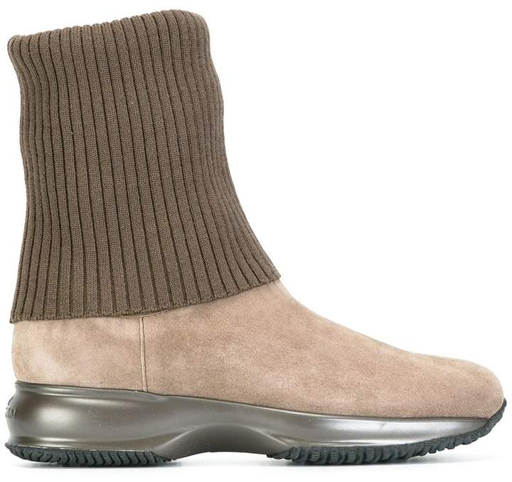 Hogan metallic sole boots