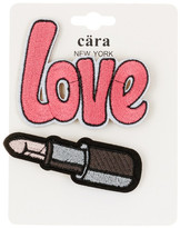 Cara Accessories Love & Lipstick Pin - Set of 2