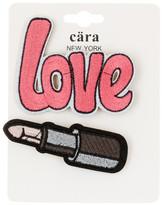 Cara Accessories Love & Lipstick Pin - Set of 2