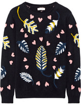 Chinti and Parker Intarsia Cashmere Sweater - x small