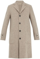 Massimo Alba Single-breasted wool coat