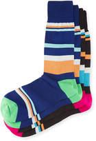 Punto Two-Pair Oversized Striped Socks