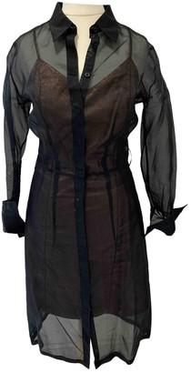 Antipodium Metallic Silk Dress for Women