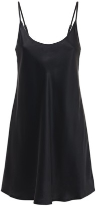 La Perla Silk Robe Mini Dress