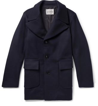Privee Salle Scott Slim-Fit Virgin Wool-Blend Overcoat