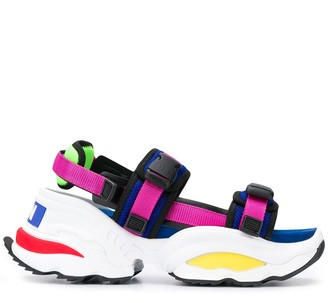 DSQUARED2 touch-strap sandals