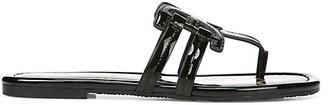 Sam Edelman Cara Patent Leather Thong Sandals