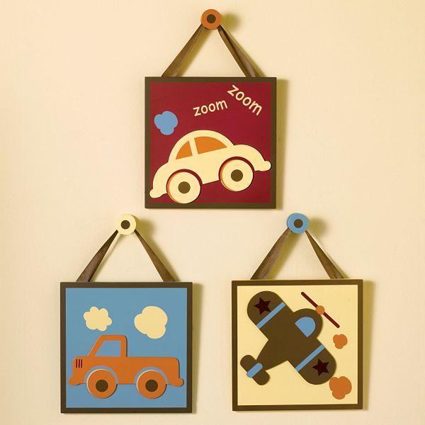 CoCalo Cocalo™ Baby Scooter 3-Pc. Wall Plaque Set