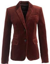 Tall schoolboy blazer in velvet