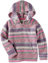 Osh Kosh Hooded Fair Isle Sweater