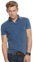 Rock & Republic Men's Slubbed Polo