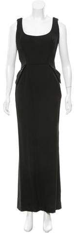 Christian Dior Embellished Sleeveless Gown