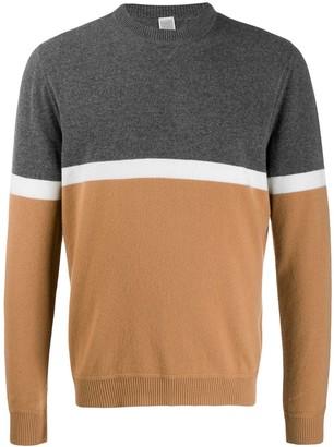 Eleventy Colour-Block Sweater