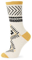 Free People Printed Fleece Socks