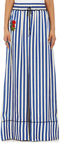 Off-White Women's Striped Pajama-Style Pants